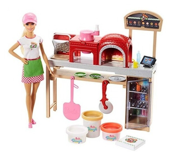 Barbie Playset Chef De Pizza Con Accesorios 2018
