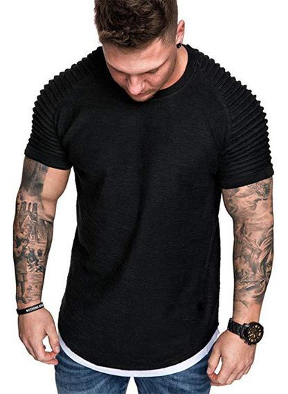 Camiseta Casual De Verano Para Hombre