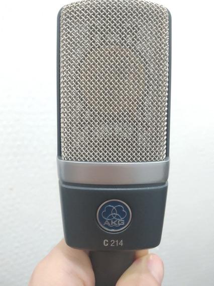 Microfone Condensador Akg 214