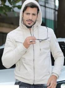 cf558b6b55 Moletom Branco Ziper Masculinos - Casacos com o Melhores Preços no ...