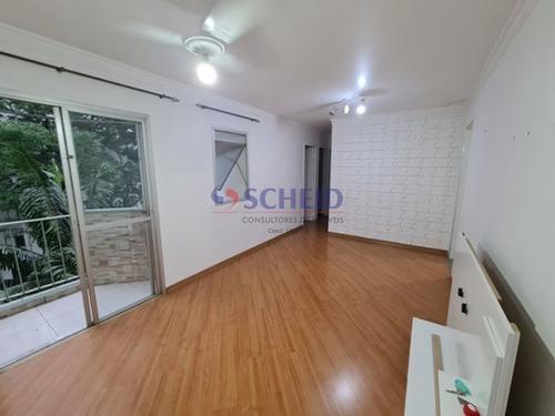 Imagem 1 de 15 de Apartamento No Jardim Marajoara, Pronto Para Morar! - Mr74075