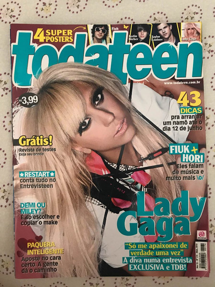 Revista Todateen - Lady Gaga