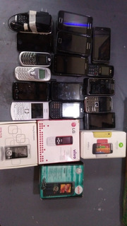 Lote De Smartphone E Celulares + De 50 Peças
