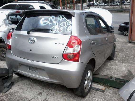 Toyota Etios Hb X 13/14/15/16/17 - Sucata Só Peças
