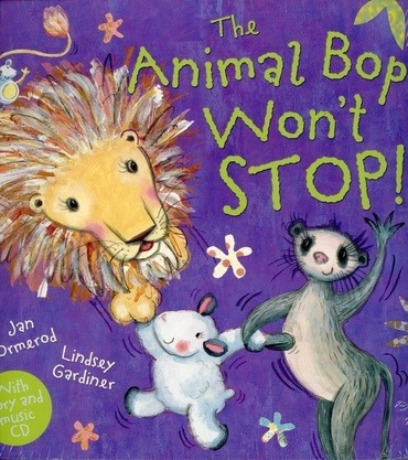 Animal Bop Won't Stop,the - W/cd - Ormerod Jan