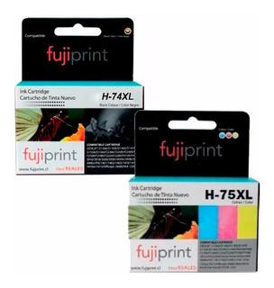 Cartuchos Tinta Impresora Hp 74 Y 75 Alternativos Nuevos