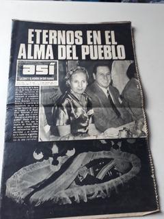 Asi. Peron Y Evita. Edicion Especial.