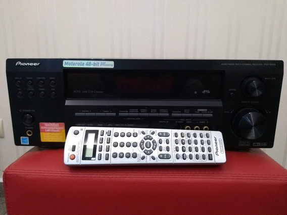 Home Theater Receiver Pioneer Vsx D814 K