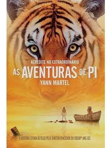 Livro As Aventuras De Pi - Yann Martel Envio Pelo Correio