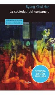 La Sociedad Del Cansancio - Coleccion- Oferta