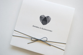 Convite De Casamento Com Digitas ( 80 Unid.) 160,00