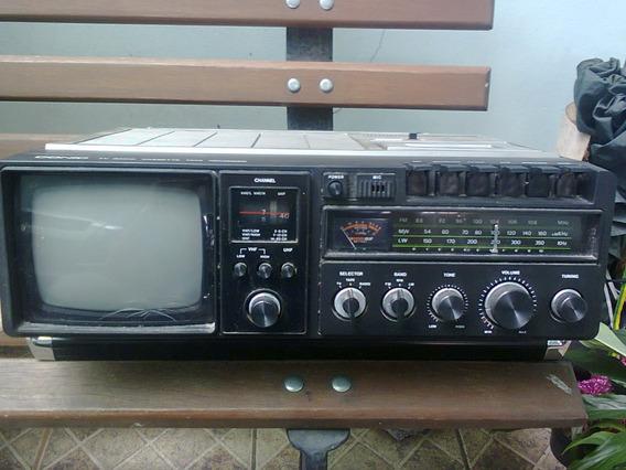 Conic 3 Em 1 Portátil Tv K7 Rádio (somente Retirada Sp)