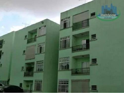 Apartamento Residencial À Venda, Cocaia, Guarulhos. - Ap0723