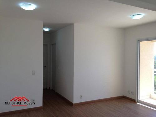 Imagem 1 de 20 de Apartamento Com 2 Dormitórios À Venda, 62 M² Por R$ 340.000,00 - Vila Industrial - São José Dos Campos/sp - Ap1631
