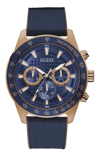 Reloj Para Hombre Guess Magnitude Color Azul Gw0206g2