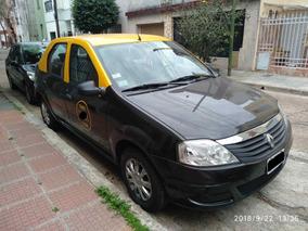 Taxi Renault Logan Diesel C/ Licencia Y Reloj Para Trabajar
