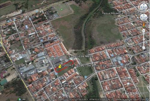 Imagem 1 de 2 de Área Comercial Em Eugênio De Mello - Ar0005