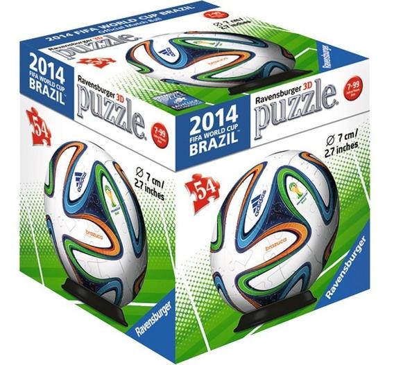 Rompecabezas 3d Balón adidas Brasil 2014 Ravensburger