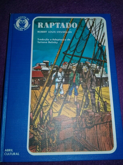 Classicos Da Literatura Juvenil Raptado N° 33 Capa Dura