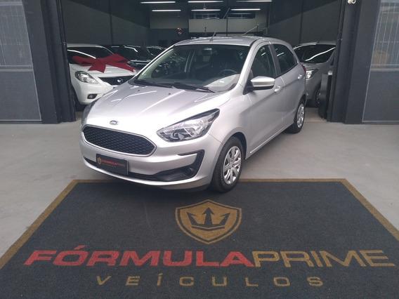 Ford Ka Se Hatch 1.0 2019 Prata