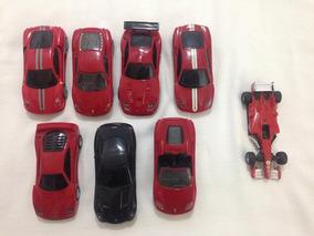 Ferrari Shell 1:38 Lote 8 Carros Usados Ler Tudo R$159,99