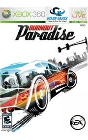 Burnout Paradise - Midia Digital/ Xbox360