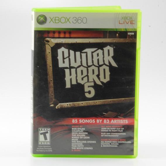 Guitar Hero 5 Xbox 360 - Mídia Física - Jogo Original!