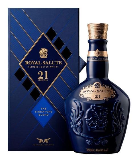 Royal Salute Whisky Escocés 21 Años Ruby Bot 700ml + Estuche