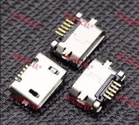 15x Conector Carga Dc Micro Usb V8 Tablet Mp3 Mp4 5 Pinos