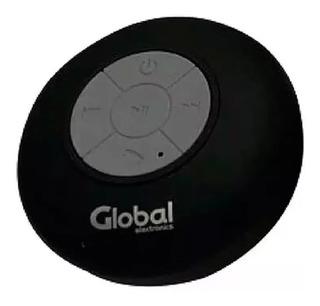 Parlante Bluetooth A Prueba De Agua (no Sumergible) Redondo