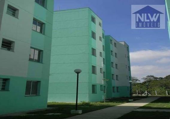 Apartamento Com 2 Dormitórios Para Alugar, 47 M² Por R$ 900,00/mês - Jardim Itamarati - Poá/sp - Ap1139
