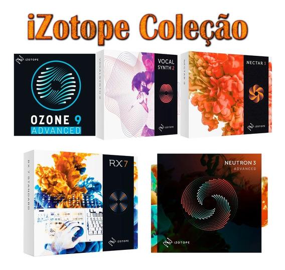 Izotope Ozone 9 + Rx7 + Nectar3.1 + Neutron3 + Vocalsynth2