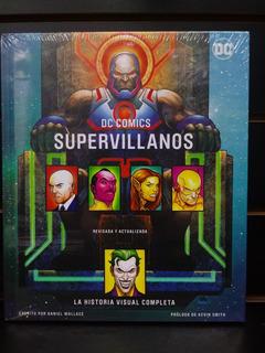 Panini Mx Dc Comics Supervillanos - Historia Visual Completa