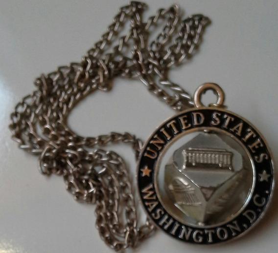 Correntinha United States Washington.d.c. Veja Descrição