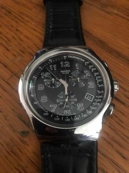 Reloj Swatch Irony Four 4 Jewels Modelo Your Turn Black