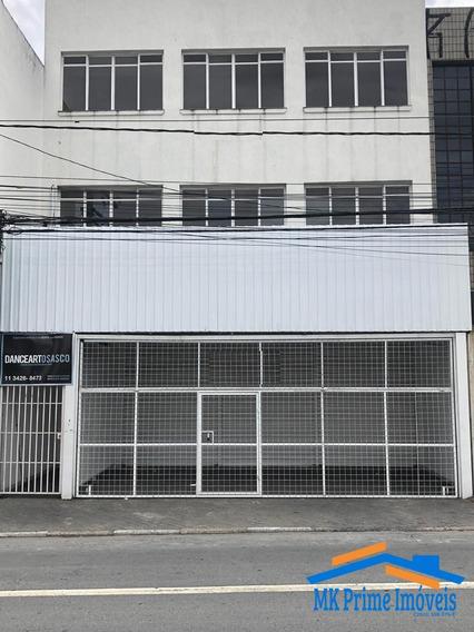Salão 1° Andar Com 170 M² - Autonomistas - Osasco - 1202