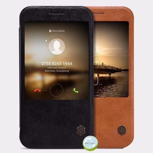 Smart Flip Cover Huawei G8, Mate 8 Original Cuero
