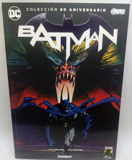 Batman 80 Aniversario Nº 13 Manbat (lomo Nº 08)