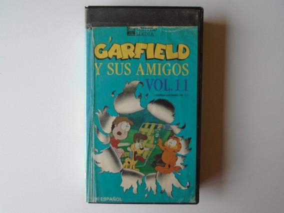 Garfield Y Sus Amigos Vol.11 Vhs United Media Videovisa