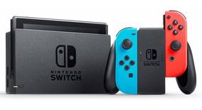 Nintendo Switch Desbloqueado Com 30 Jogos Na Memória Novos