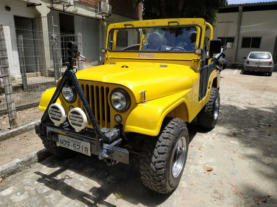 Jeep Willys 1958 Ap Injetado Pandoo Fibra Pronto