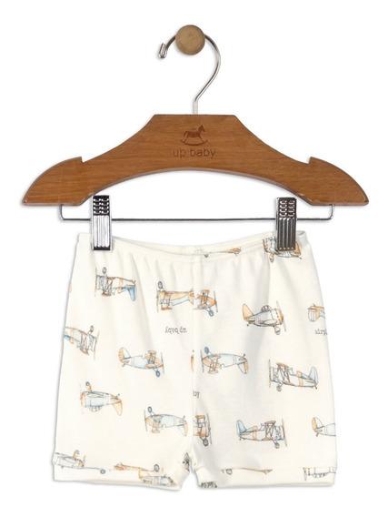 Shorts Em Algodão Up Baby