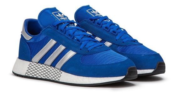 Tênis adidas Marathon X 5923 Blue Silver Unissex.