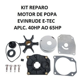 Reparo Bomba Agua C/ Rotor Motor Evinrude E-tec 40 50 60hp