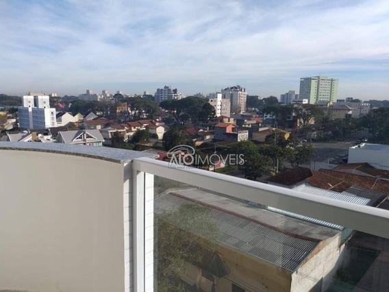Apartamento Com 1 Dormitório À Venda, 35 M² Por R$ 250.000 - Portão - Curitiba/pr - Ap0136