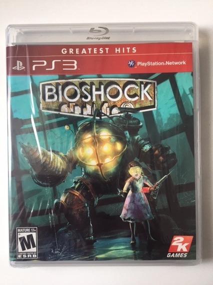 Bioshock 1 - Ps3 Midia Fisica
