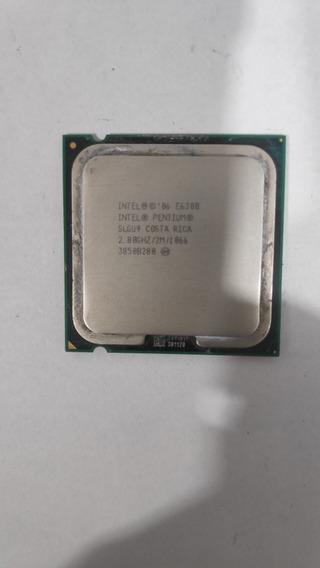 Processador Intel Pentium E6300 2mb 2.8ghz 1066mhz.