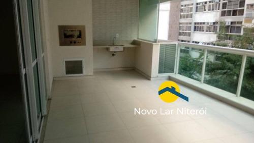 Imagem 1 de 15 de Excelente Apartamento Alto Padrão Novo 4 Suítes 3 Vagas E Lazer 1 Quadra - 75