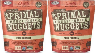 Primal Fpkfd14 Pet Foods Freezedried Feline Pork Formula 14