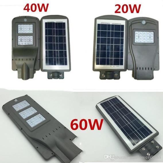Lamparas Led Con Panel Solar.